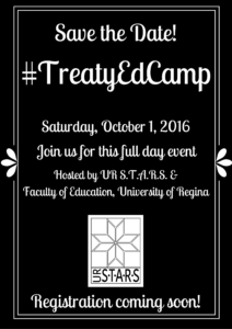 #TreatyEdCamp Save the Date